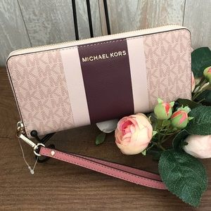 Michael Kors Large Wallet Continental Rose Multi
